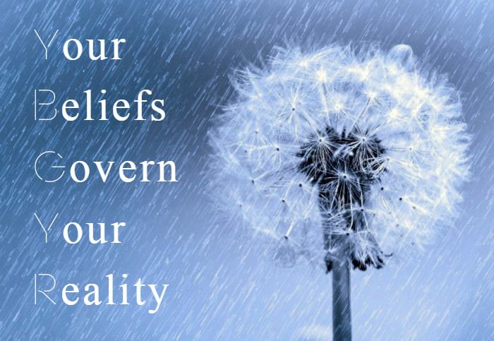 your beliefs govern your reality