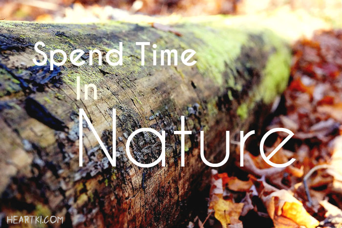 spend time in nature